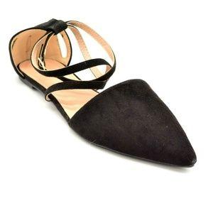 Refresh Women Hedy Flat Shoe Size 11 Black New